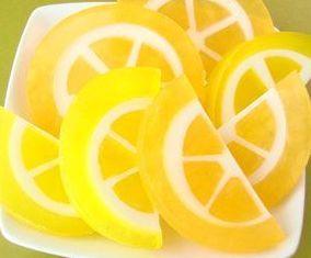 Citrus soap - melt & pour
