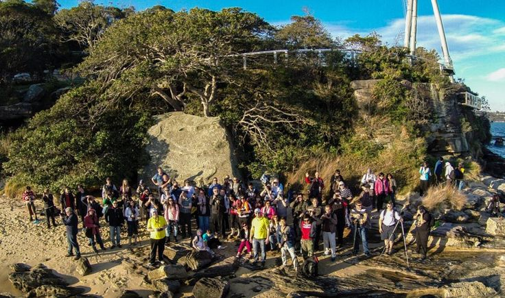 For our August 2014 Photowalk we visited Bradleys Head Reserve in Sydney. We were joined by over 50 very keen photowalkers. There were weddings, flying quadcopters, spinning lights and even a little steel wool. #photowalk #sydneyphotographers #photography