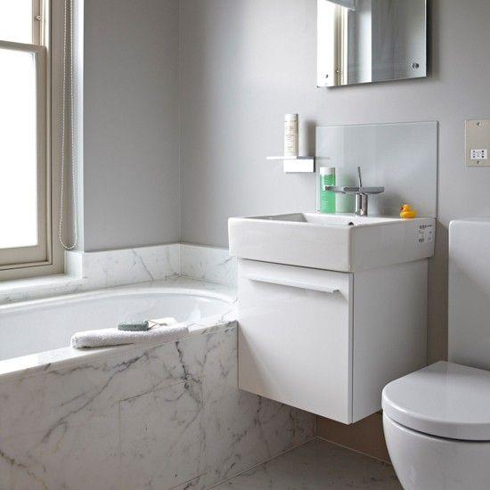 Best 25 small space bathroom ideas on pinterest small - Bathroom ideas photo gallery small spaces ...
