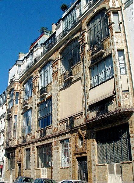 Paris 14ème arrondissement- Ateliers d'artistes 31 rue Campagne-Première