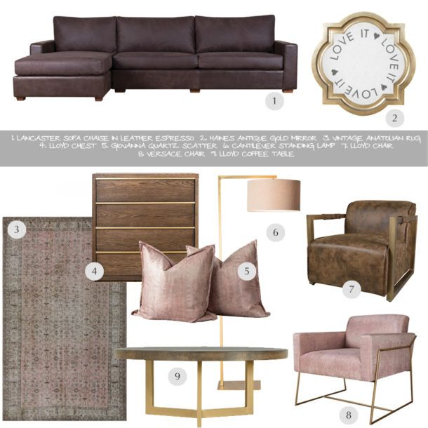 A Blushing Blizzard Collection of Neutrals with SHF - SA Décor & Design Blog