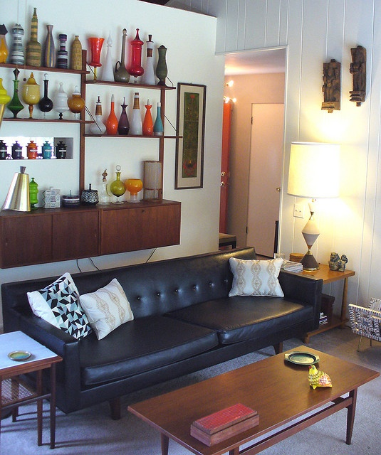 Note credenza in back. Could do the one from ikea