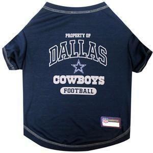 Dallas Cowboys Dog Tee Shirt Nfl Shirts Dog Apparel 30221424a