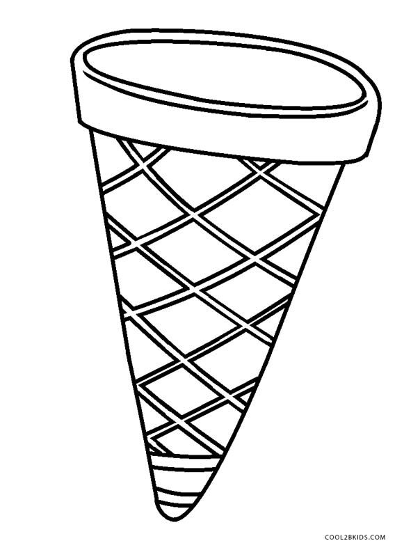 Free Printable Ice Cream Coloring Pages For Kids Cool2bkids Ice Cream Coloring Pages Ice Cream Template Cone Template