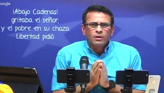 Capriles se manifiesta sobre Ramos Allup y anuncia su retiro de la MUD    Enrique Capriles denuncia a Ramos Allup, como un operador político responsable de la crisis de los gobernadores que se juramentaron ante la ANC y anuncia su retiro de la MUD  http://enlamira.net/2017/10/25/capriles-se-manifiesta-sobre-ramos-allup-y-anuncia-su-retiro-de-la-mud/