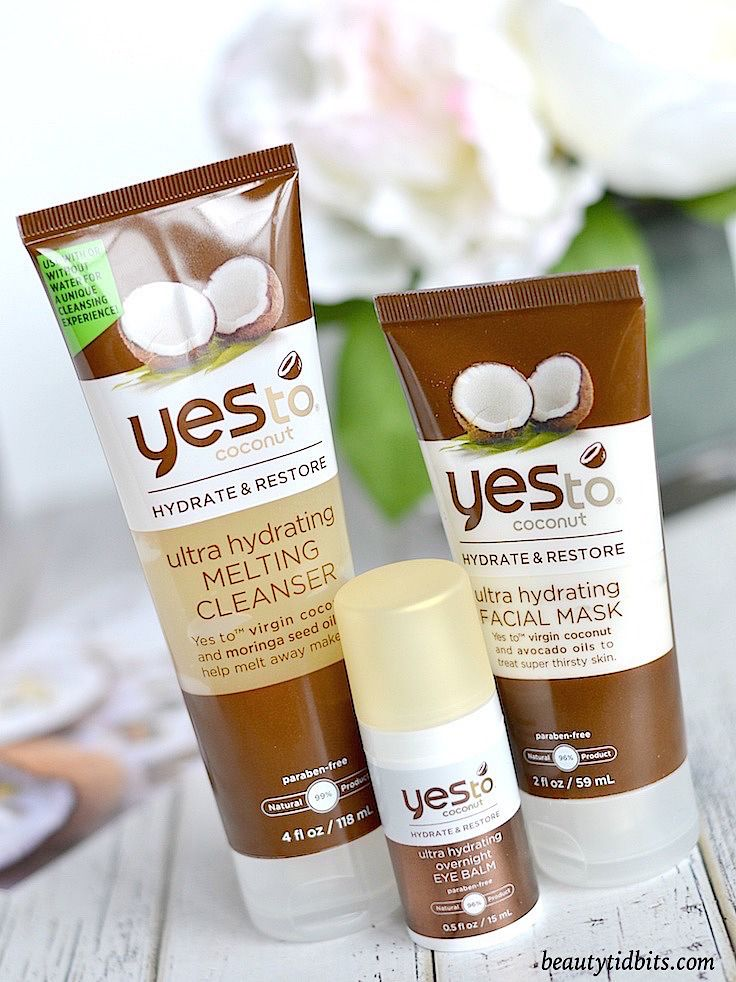 Need a little escape from the harsh winter weather? You need to try the NEW Yes to Coconut Ultra Hydrating Face Collection! (Best Skin Drugstore)