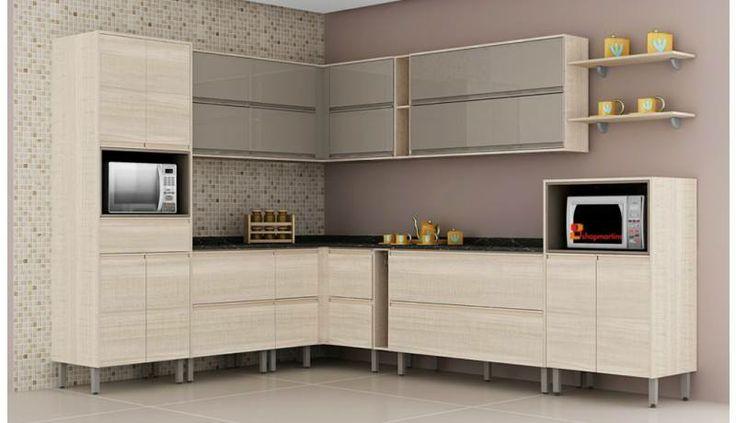 #Cozinha Completa Belíssima Sara Wood com Fumê Lacca - #Itatiaia. Por R$3.810,00 ou até 10x de R$381,00 sem juros no Cartão de Crédito ou com 10% de desconto R$3.429,00. Comprar http://www.shopmartins.com.br/cozinha-completa-belissima-3-sara-wood-com-fume-lacca-itatiaia.html