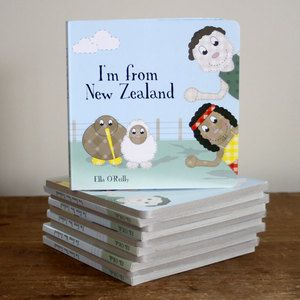 Discover the things that make it wonderful to be from New Zealand!  A classic kiwiana feel-good book, that references the language, the animals, the food, the landscapes and the things that make us proud to be kiwis. This is a hardcover board book, great for little hands, but I think that the adults will like it just as much.  Book measures 16cm x 16cm