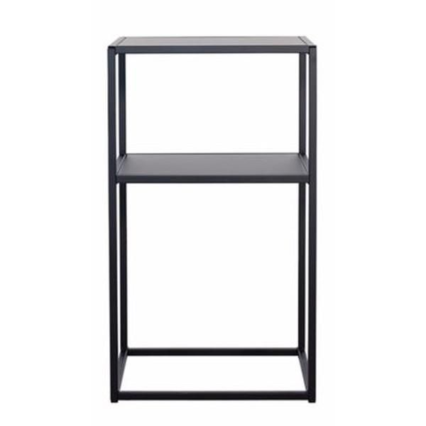 Domo nattbord fra Domo Design. Produktene fra Domo Design er produsert i rent stål. Fra det harde og kraftige stålet fødes et stilrent og moderne hånd