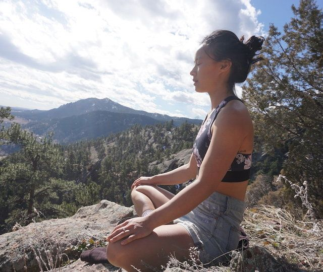 A nonmeditator starts a meditation practice — and sticks with it for a year.