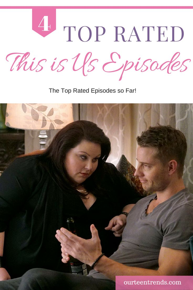 NBC's new television series This Is Us is a runaway hit.  Check out the top rated This is Us episodes so far!