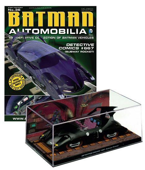 Pré-Encomenda:  Batman Automobilia Magazine with 1/43 Diecast Model 36 Detective Comics 667  Para mais informações clica no seguinte link: http://buff.ly/1iJsKrj  #ToyArt #Eaglemoss #DCComics #Batman