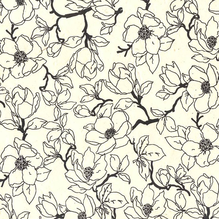 Buttery lokta paper is silkscreened with delicate magnolia branches for an eco-friendly paper with contemporary appeal.