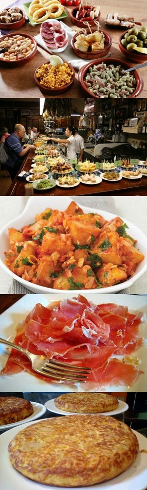 Cinque piatti tipici spagnoli: gli antipasti