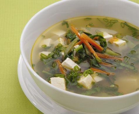 sopa de verduras china