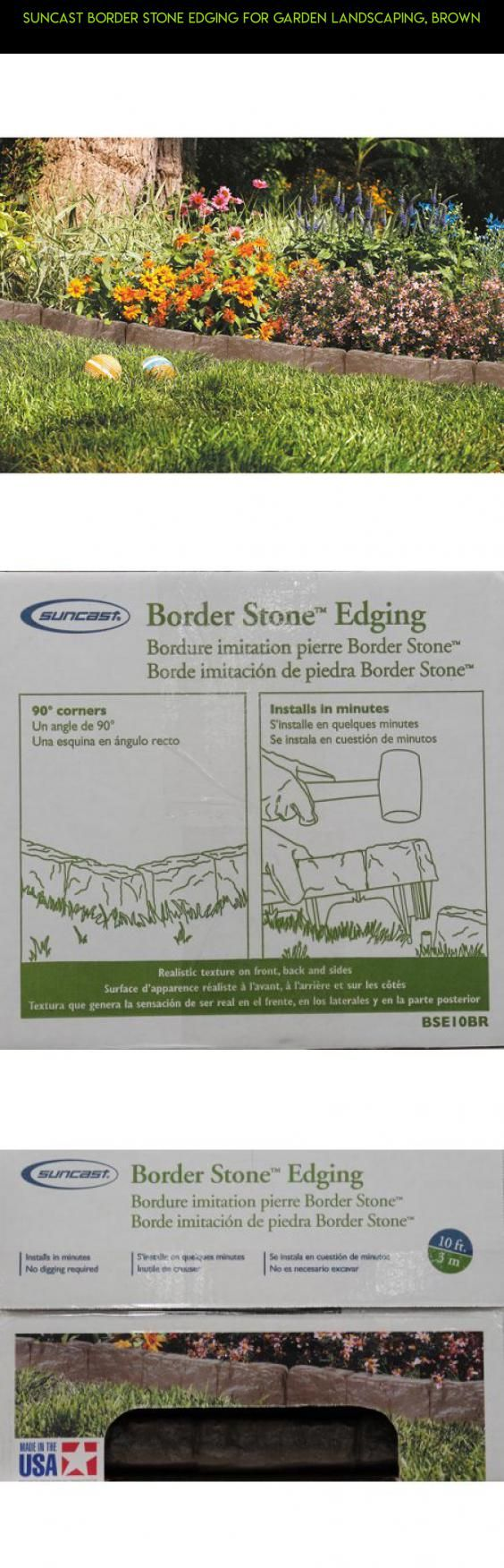 Suncast Border Stone Edging for Garden Landscaping, BROWN #technology #fpv #drone #kit #camera #storage #racing #plans #products #drawers #tech #shopping #gadgets #parts #7