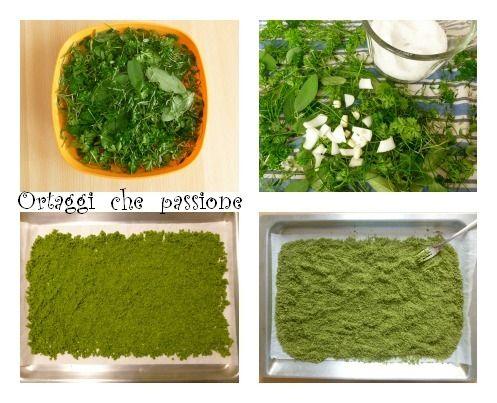 Sale verde aromatizzato Ortaggi che passione by Sara