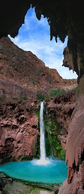 Mooney Falls, Grand Canyon, Arizona