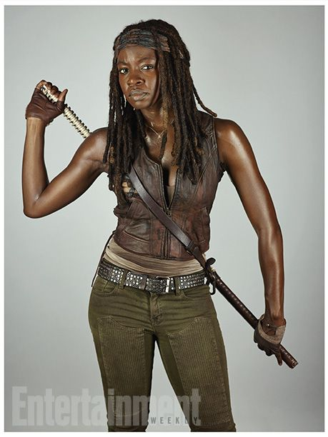 Danai Gurira Walking Dead Michonne | The Walking Dead 5ª Temporada: Ensaio fotográfico com elenco