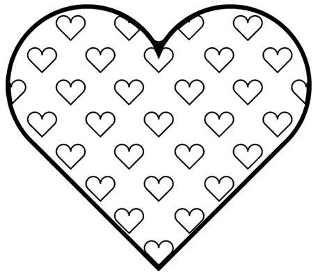 182 besten Printable Hearts Coloring Bilder auf Pinterest | Herzchen ...
