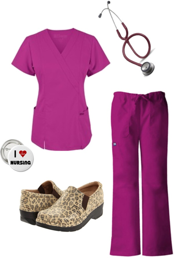 Scrub Style! created by klogs-usa on Polyvore | KLOGS Style | Pinterest | Leopard shoes ...