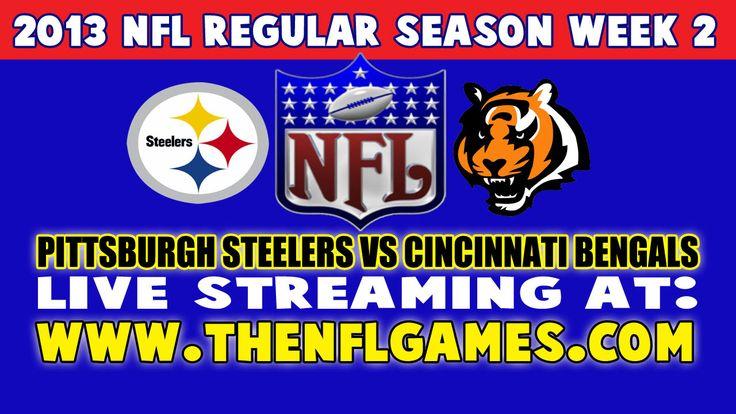 Pittsburgh Steelers vs Cincinnati Bengals Live Streaming