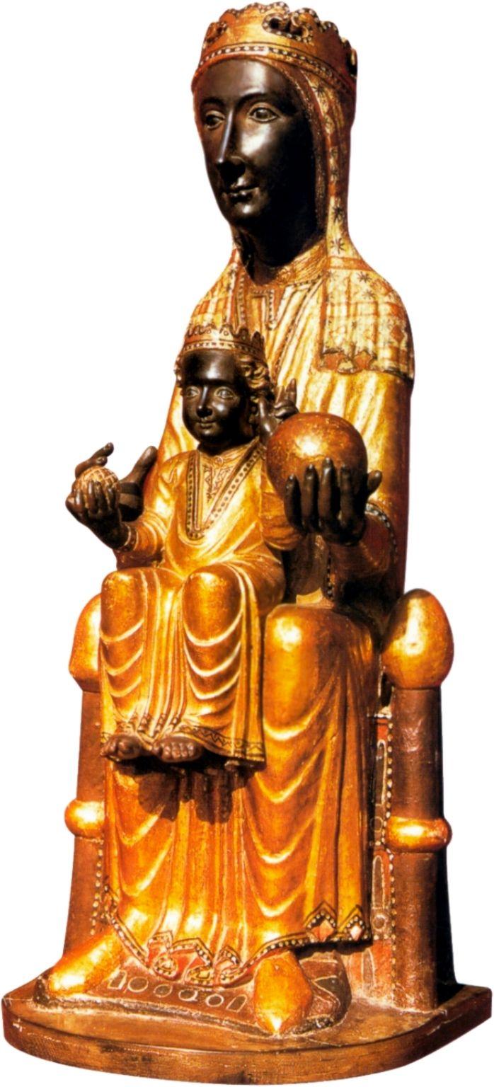 Verge de Montserrat, patrona de CATALUNYA.