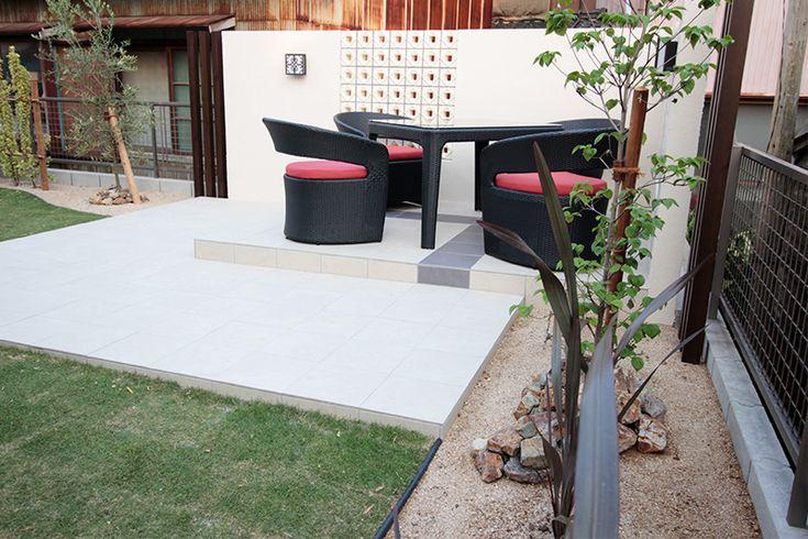 お庭・外構工事 施工事例 | アジアン バリ リゾート風 ガーデン お庭 エクステリア 外構工事