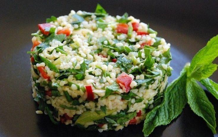 Ταμπουλέ, η σαλάτα του καλοκαιριού