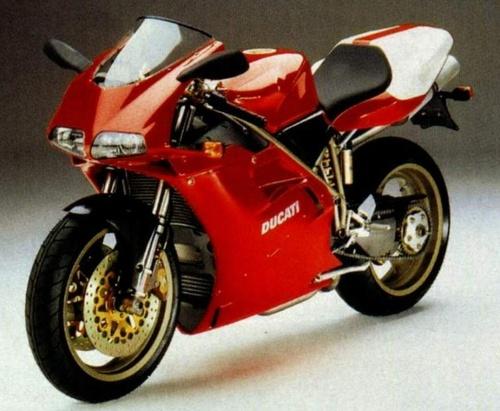 Red Ducati...