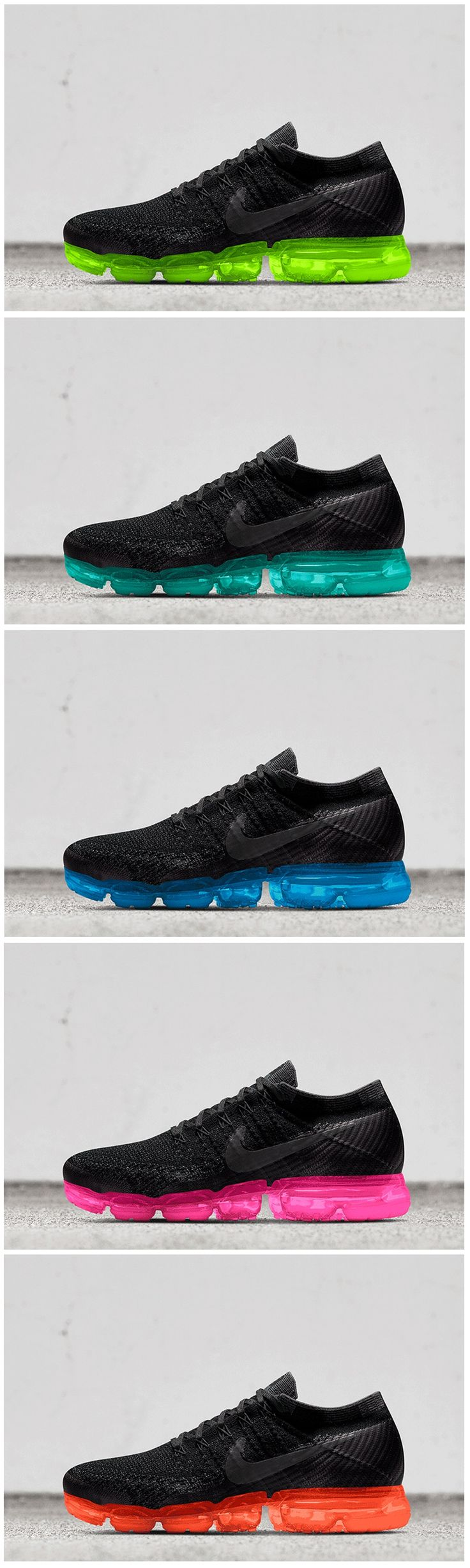 Nike Air VaporMax Flyknit Men's Running Shoe. Nike AE