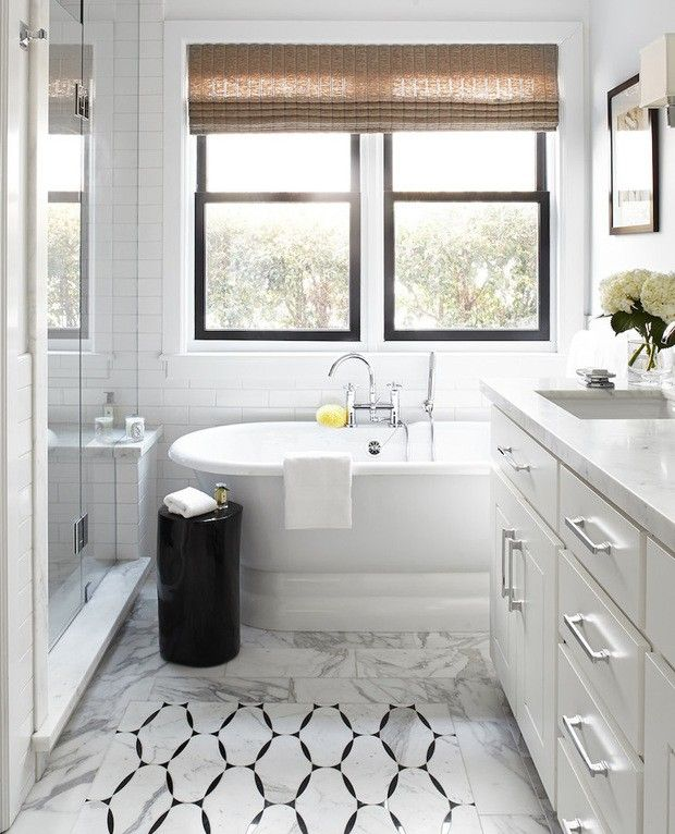 Black And White Small Bathroom Ideas Decorating Theme