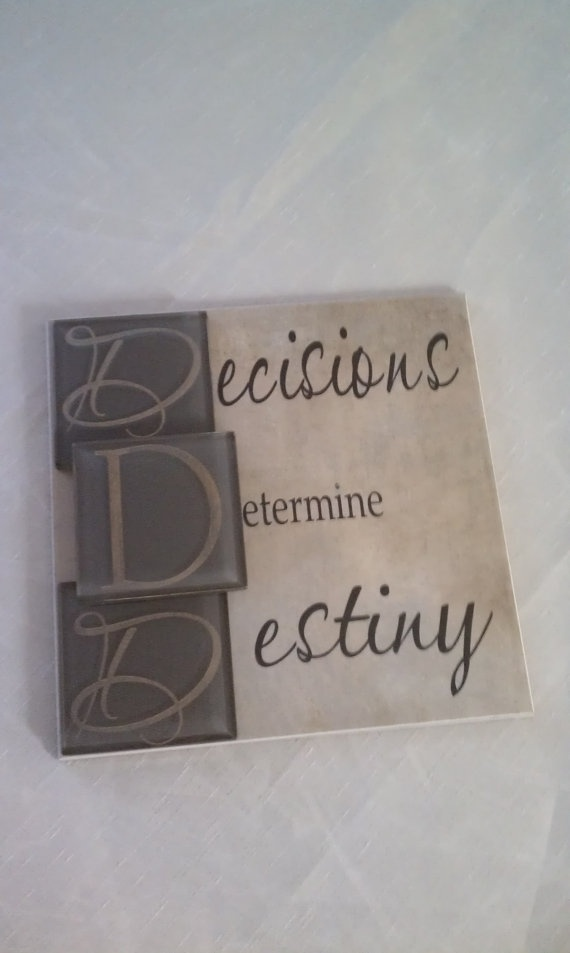 Ceramic Tiles With Sayings : Mod decor ceramic tile quote glass tiles by carenslaser on