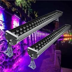 [ $22 OFF ] Outdoor Led Wall Washer Lamp Focos 220V Exterior Reflector Led Flood Light 72W Luminaria De Parede Ip65 Led Spotlight Fluter
