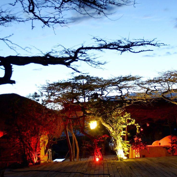 Terraza eco para BETHEL BIO LUXURY HOTEL en el desierto de la Tatacoa