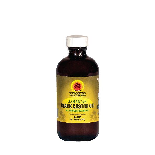 Jamaican Black Castor Oil - 4 oz | Tropic Isle Living