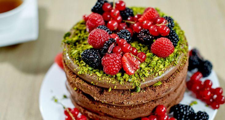 Bake Off - Ale ciacho! - Naked Cake czekoladowy