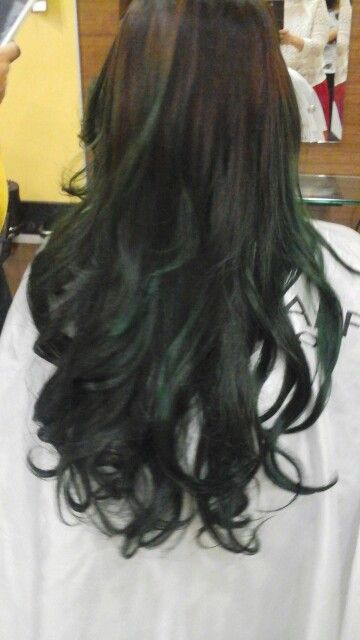Ombre by fang salon