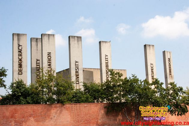 Apartheid Museum  http://citysightseeing-blog.co.za/2014/10/24/top-10-things-to-do-in-the-city-of-gold-johannesburg/