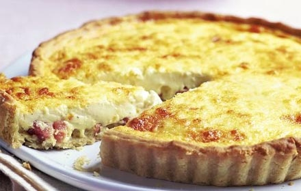Stock up on ready-made savoury pie cases, and you can whip up a quiche in 20 minutes, elegantly served with salad. Gordon Ramsay's Quiche Lorraine with roasted tomatoes certainly deserves a look-see.