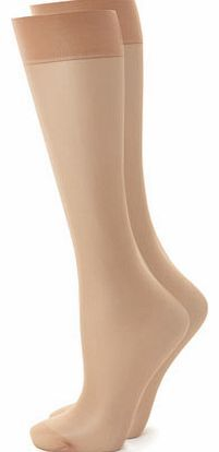 Bhs Womens Natural Tan 2 Pack of Premium 7 Den Stop holes turning into ladders with these premium 7 denier ladder resist knee highs. Knitted using a brand new technology which bonds together to give incredible strength these knee highshave been d http://www.comparestoreprices.co.uk/fashion-clothing/bhs-womens-natural-tan-2-pack-of-premium-7-den.asp
