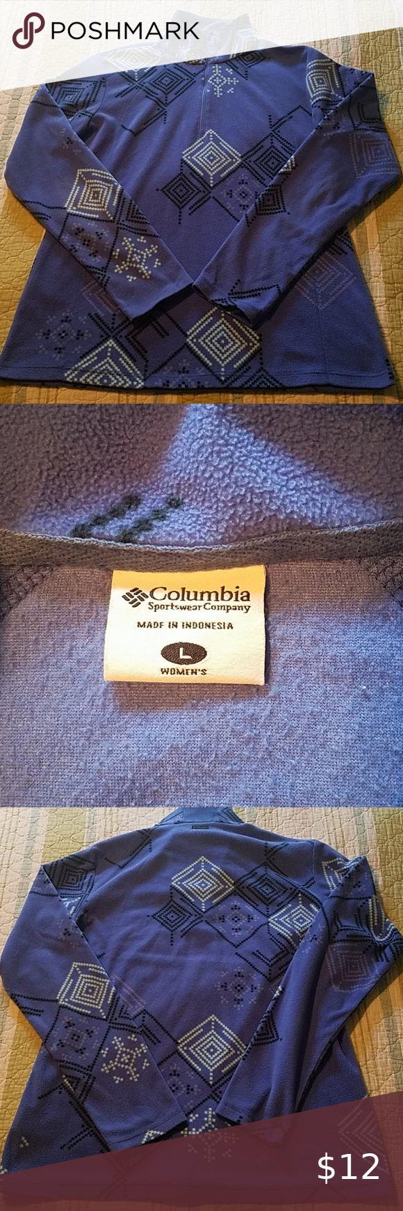 Columbia 1/4 zip size large in 2020 Zip, Columbia sports