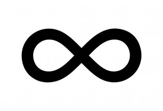 tak terhingga simbol infinity