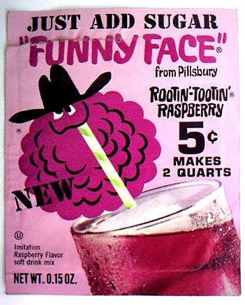 Funny Face drink mix - I loved the names!