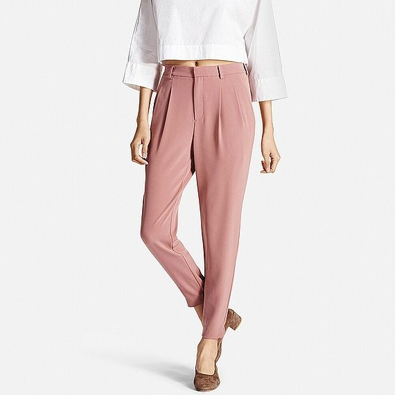 UNIQLO WOMEN DRAPE JOGGER PANTS