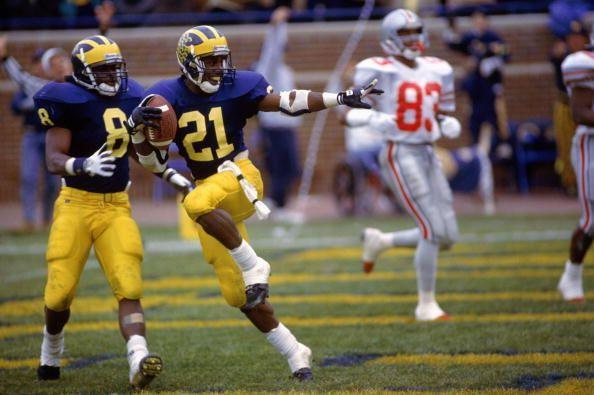 OSU-Michigan 1991: Desmond Howard's Heisman Trophy pose highlights Wolverines' 31-3 blowout of Buckeyes   cleveland.com