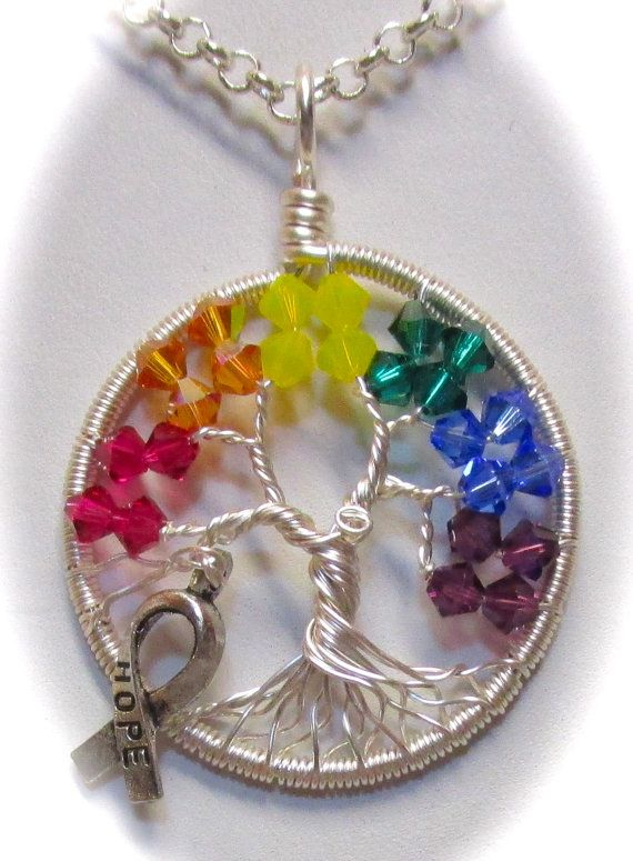 LBGT Civil Rights Tree of Life made with by Mariesinspiredwire