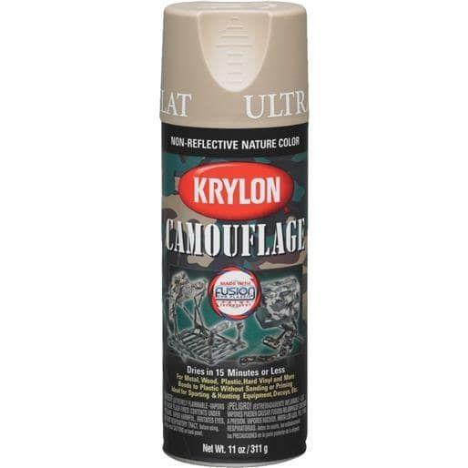 Krylon/Consumer Div Sand Camo (Green) Spray Paint K04295007 Unit: Each