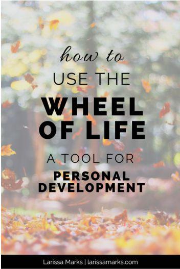 The Wheel of Life Tool