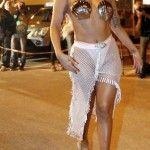 Lady Gaga come Afrodite: la star arriva come una dea in Grecia